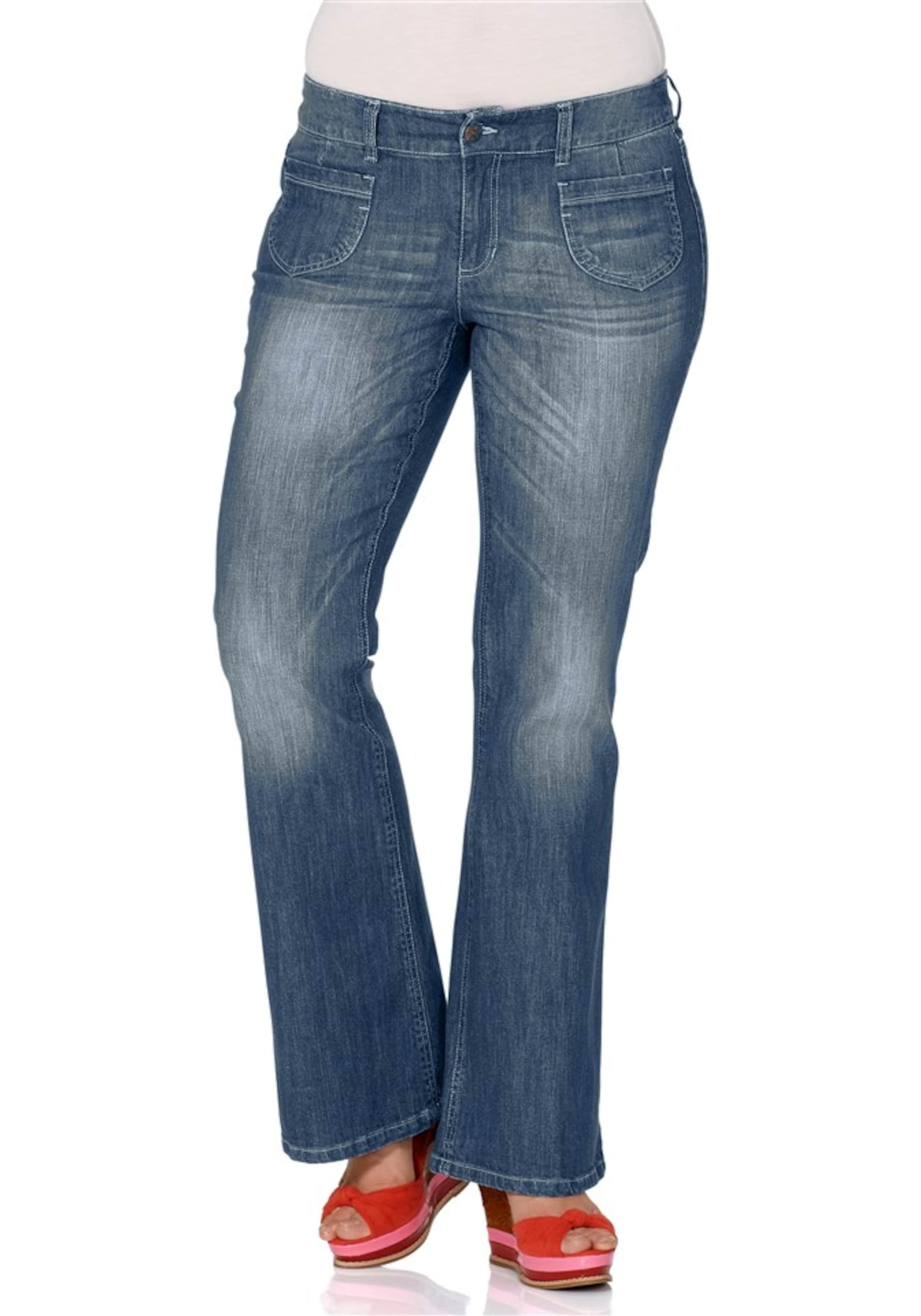 Flared Sheego In jeans In Blau Flared jeans Sheego zUGMqSpV