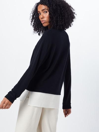 Kaffe Sweter 'belina' w kolorze czarnym: Widok od tyłu