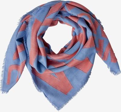 STREET ONE Schal in royalblau / pink, Produktansicht