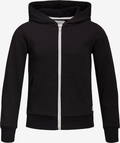 Produkt Sweatjacke in schwarz, Produktansicht
