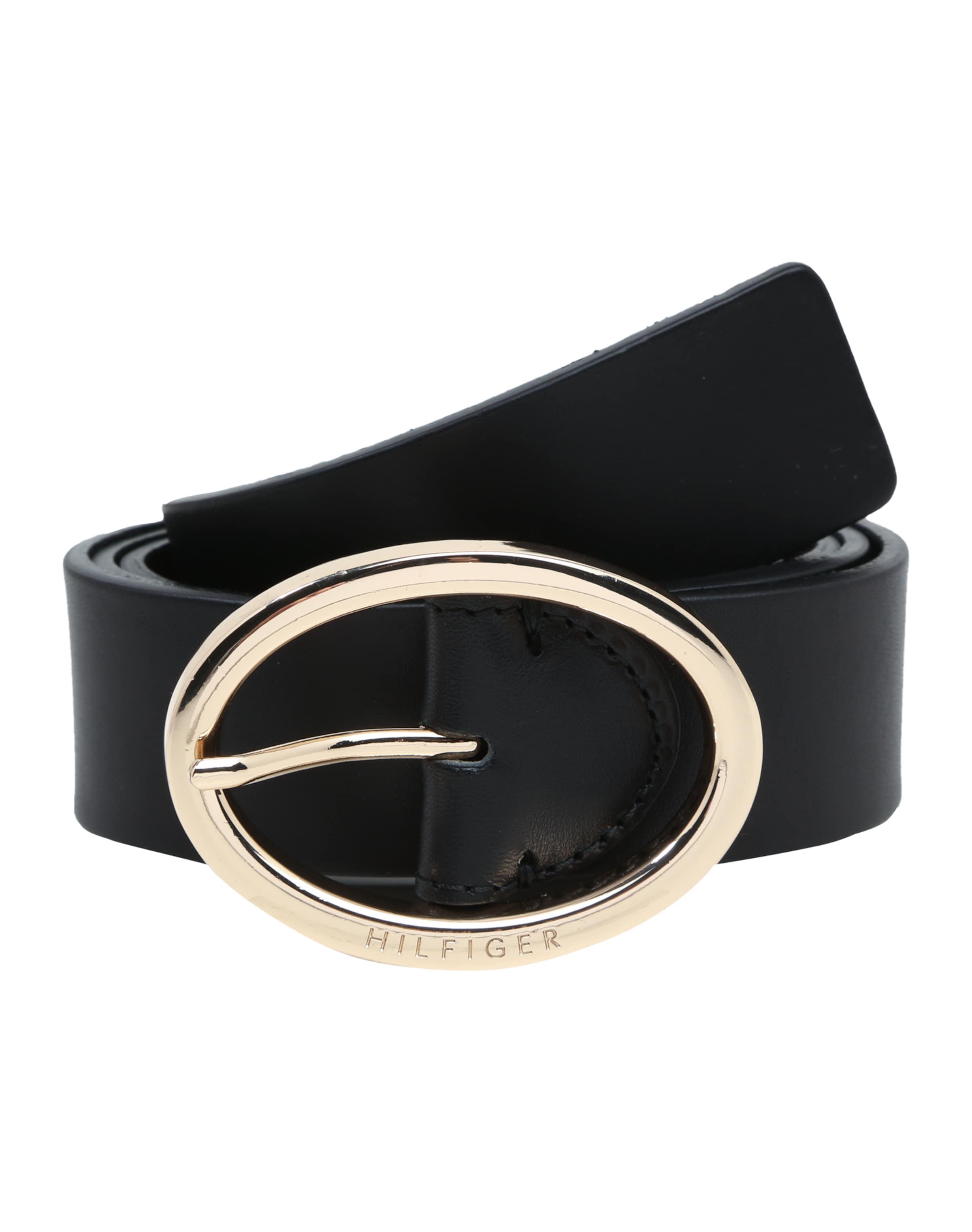 Günstig Kaufen Neue Stile Rabatt Heißen Verkauf TOMMY HILFIGER Ledergürtel 'Oval buckle belt 3.5' spflaEMFw