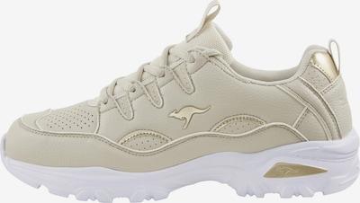 KangaROOS Sneaker in beige / weiß, Produktansicht