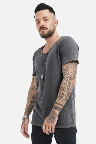 trueprodigy Shirt 'Halvar' in dunkelgrau: Frontalansicht