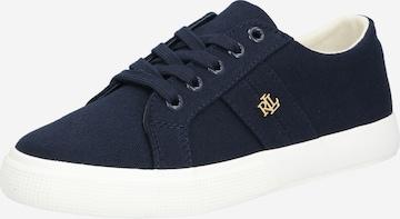 Sneaker low 'JANSON II-NE-SNEAKERS-VULC' de la Lauren Ralph Lauren pe albastru