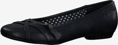 s.Oliver Klassische Ballerinas in schwarz, Produktansicht