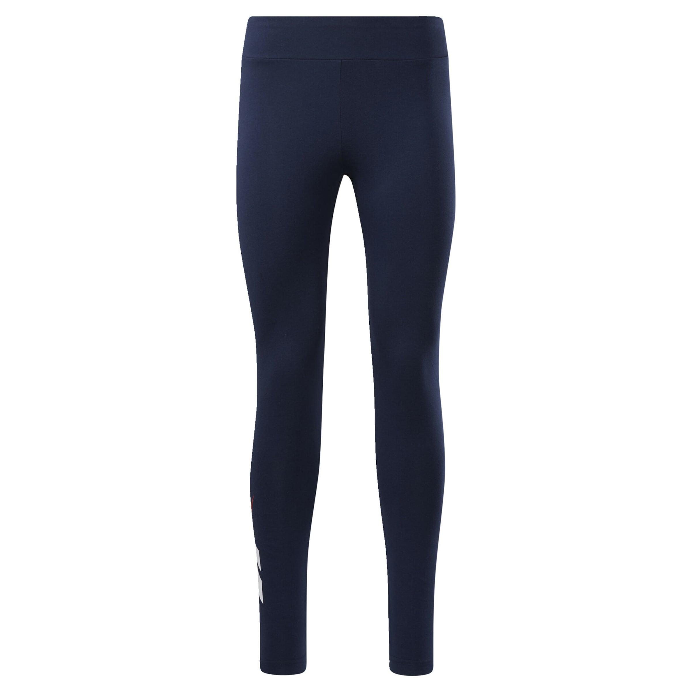 Reebok Classic Leggings i mörkblå / vit