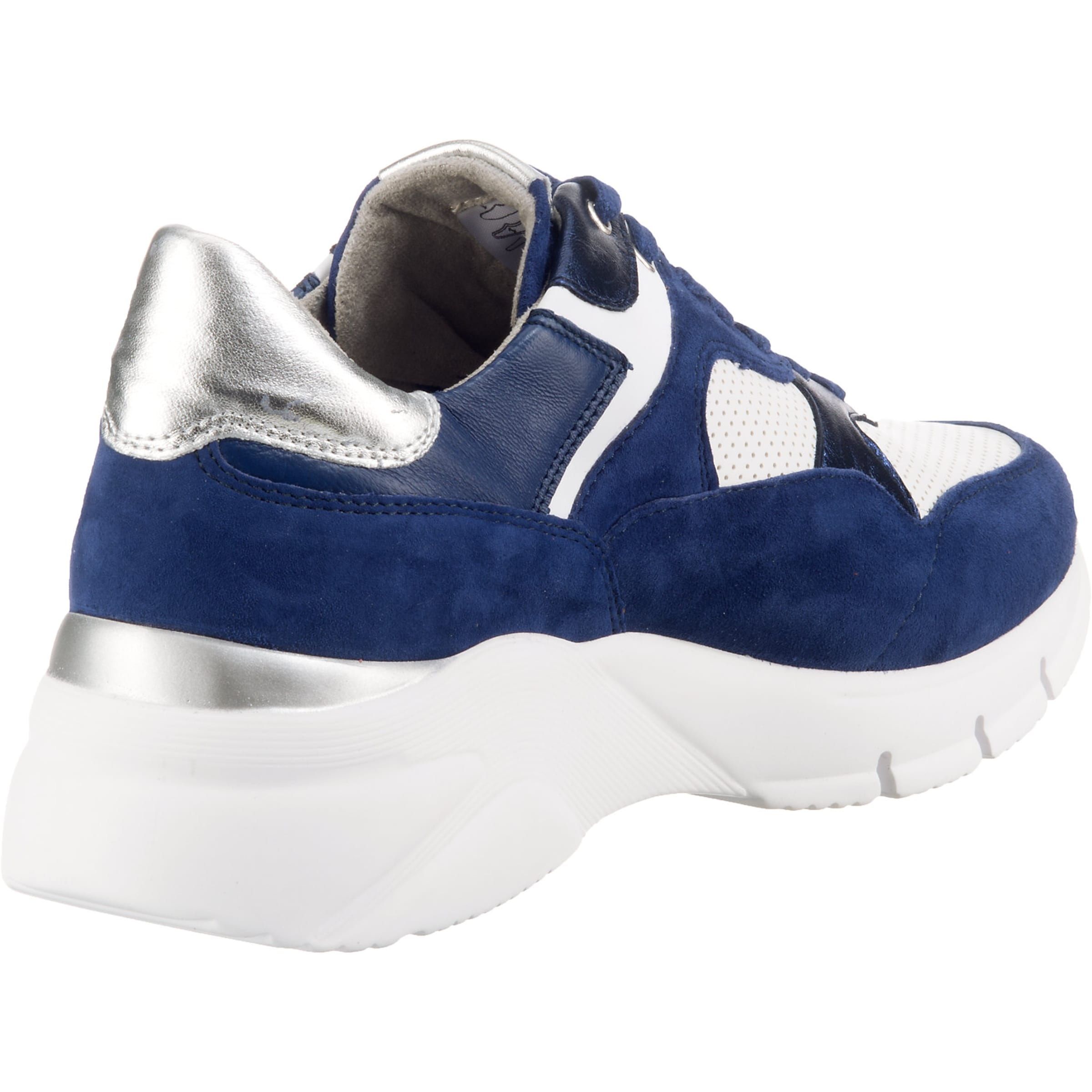 Tamaris BlauSilber In Weiß Low Sneakers SUzpVM
