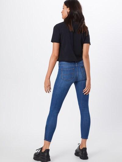 Lee Jeans 'Scarlett Cropped' in blue denim: Rückansicht