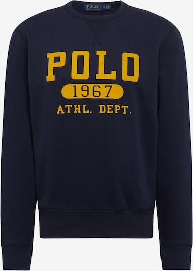 POLO RALPH LAUREN Sweat-shirt en bleu marine / jaune, Vue avec produit