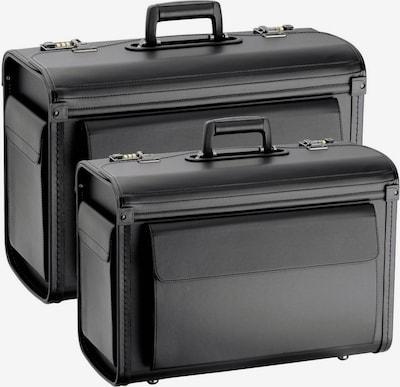 D&N Pilotenkoffer 2tlg. Set in schwarz, Produktansicht