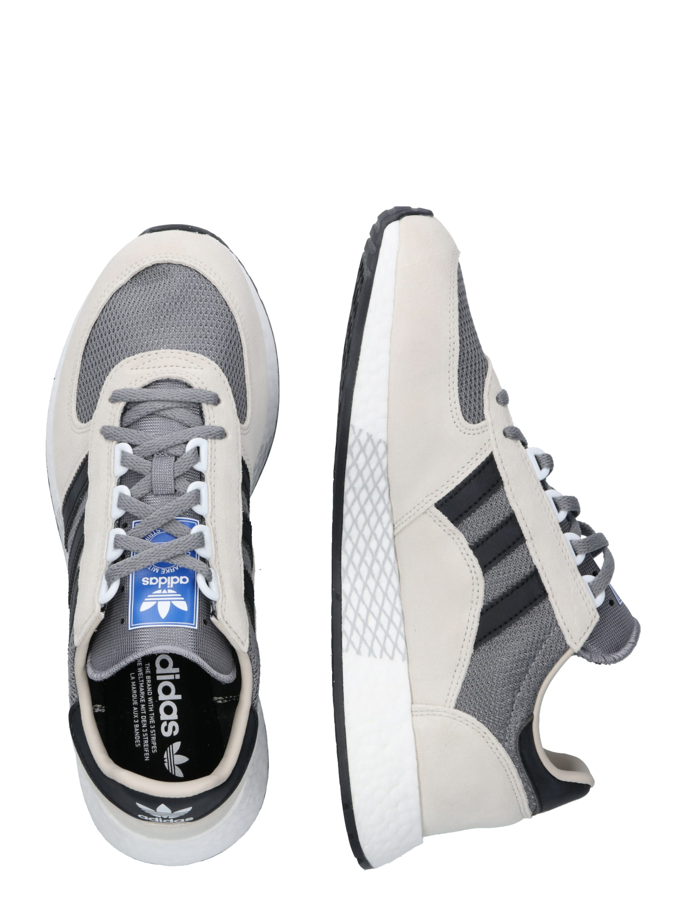 Adidas BeigeBraun In Tech' Originals 'marathon Sneaker Ov8nw0Nm