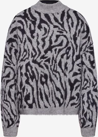 Megztinis 'LARIDA' iš DRYKORN , spalva - pilka / juoda, Prekių apžvalga