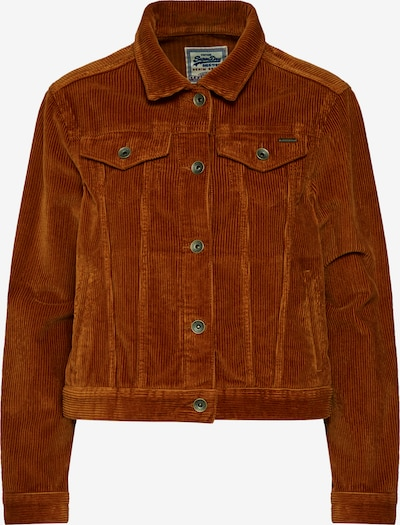 Superdry Veste mi-saison 'GIRLFRIEND' en ocre: Vue de face