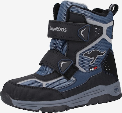 KangaROOS Stiefel in himmelblau / schwarz, Produktansicht