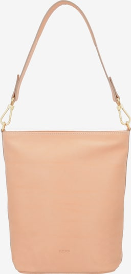 BREE Schultertasche 'Stockholm 44 Mini Bag' 20 cm in nude: Frontalansicht