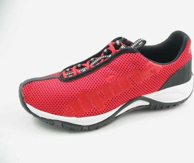 Alpina Sportschuhe in rot / schwarz, Produktansicht