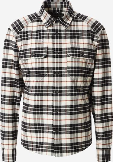 DRYKORN Hemd in ecru / schwarz, Produktansicht