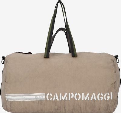 Campomaggi Reisetasche 50 cm in sand / weiß: Frontalansicht