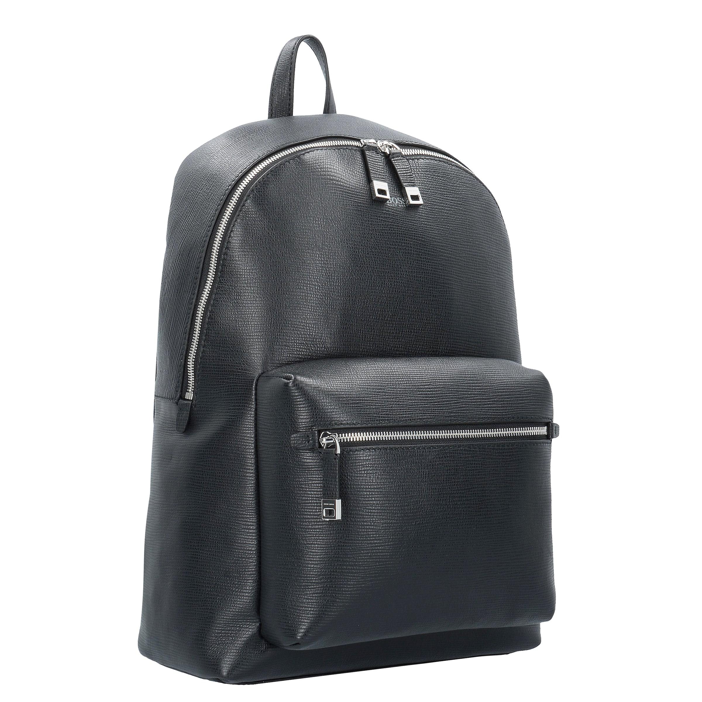 BOSS Timeless Business Rucksack Leder 45 cm Laptopfach Rabatt 7Vm0DtQgdT