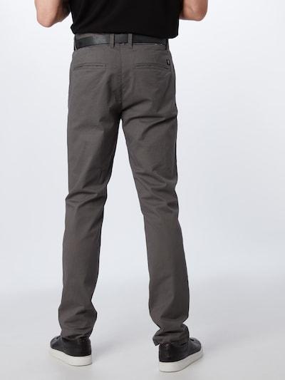 TOM TAILOR DENIM Chino hlače   temno siva barva: Pogled od zadnje strani