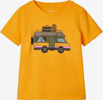 NAME IT T-Shirt in goldgelb / mischfarben, Produktansicht