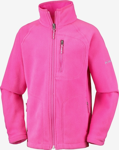 COLUMBIA Fleecejacke 'Fast Trek' in pink, Produktansicht