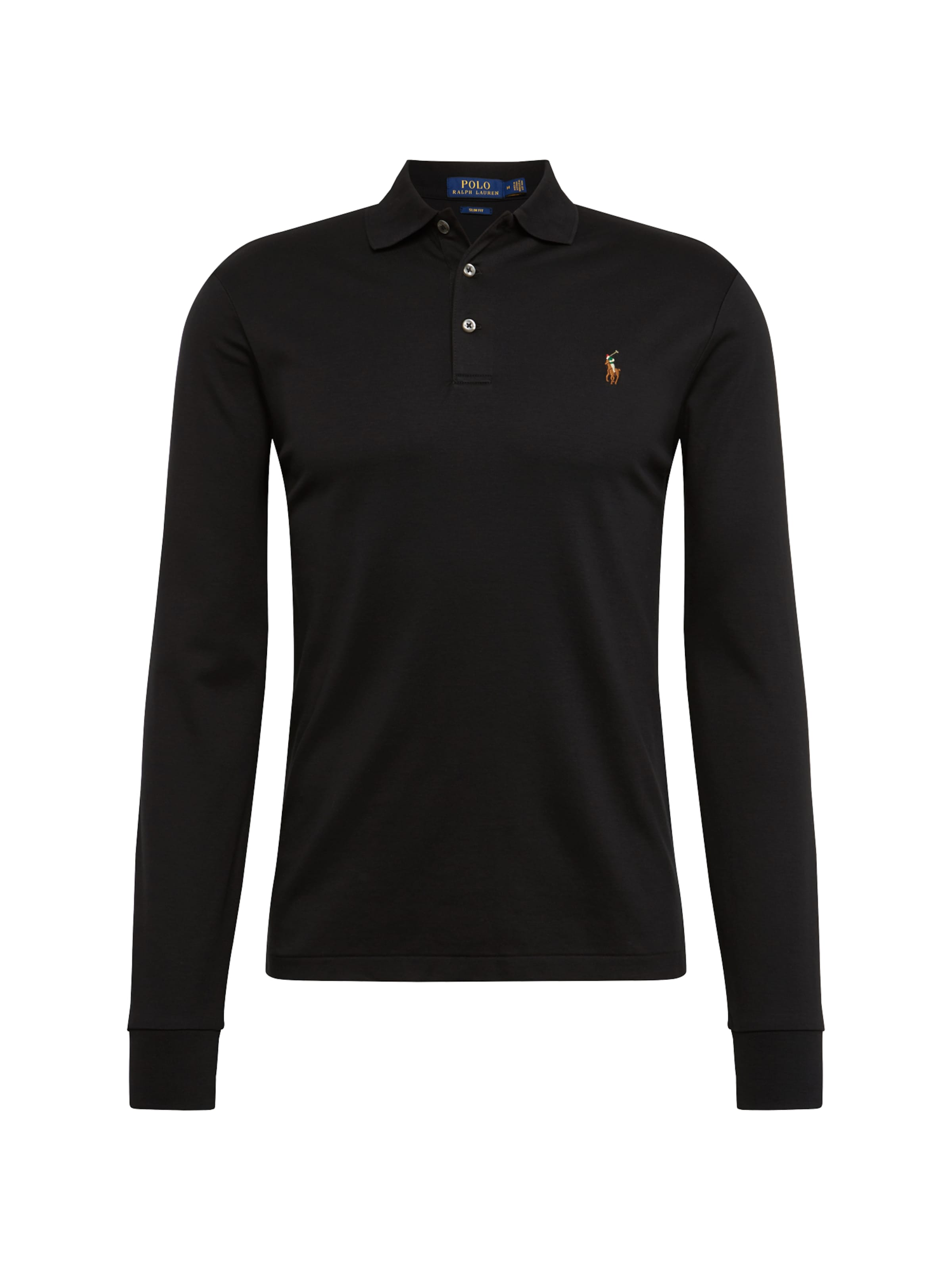 long HerrenShirtsamp; Ralph Sleeve In Schwarz Polos knit' 'lskcslm12 Polo Lauren Ym7y6gIbvf