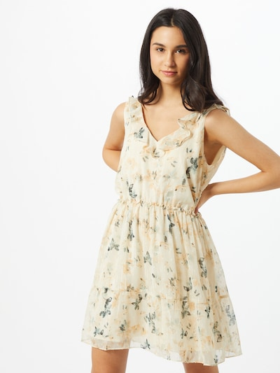 Neo Noir Šaty - pastelově žlutá, Model/ka