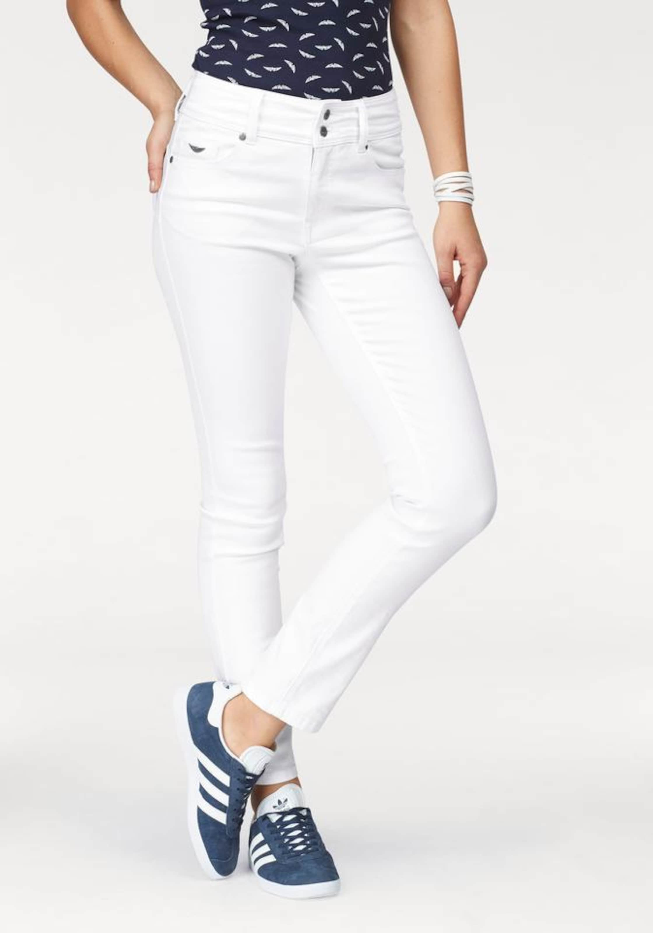 ARIZONA High-waist-Jeans 'Ankle-Slim' Wiki Rabatt Footaction Rabatt Genießen Bxarl