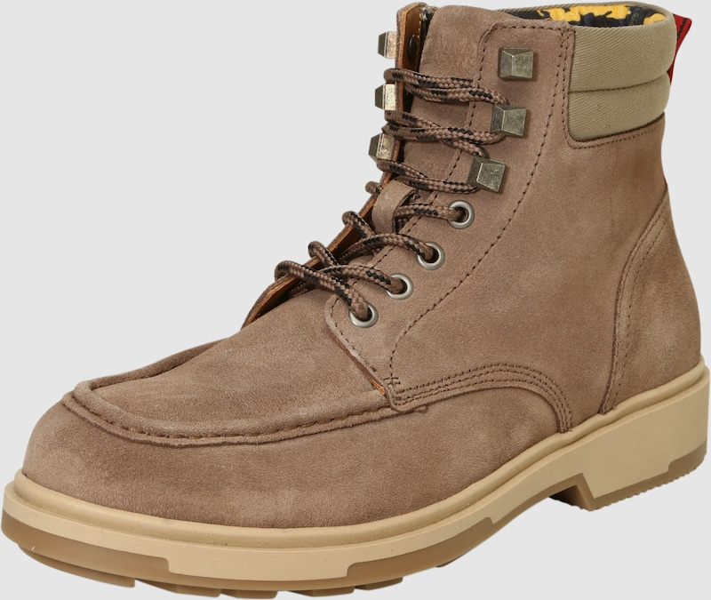 Tommy Jeans Winter-Boots aus Veloursleder