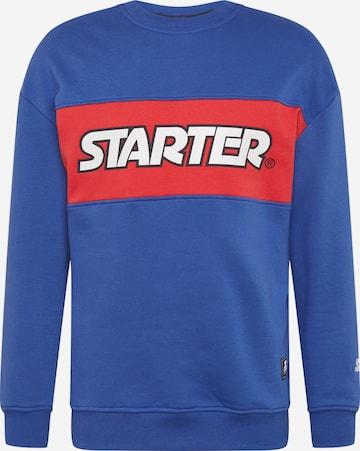 Bluză de molton de la Starter Black Label pe albastru