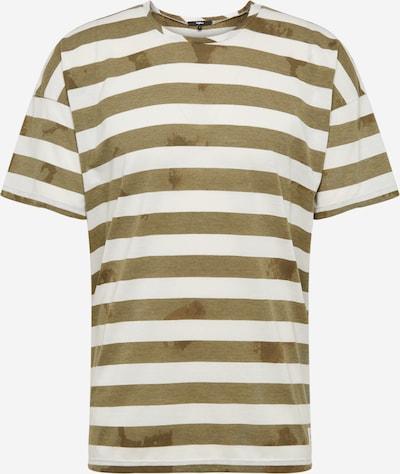 tigha Shirt 'Dannie' in khaki / weiß, Produktansicht