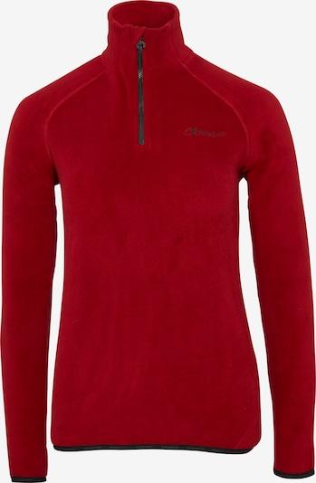 CHIEMSEE Fleeceshirt in rot, Produktansicht