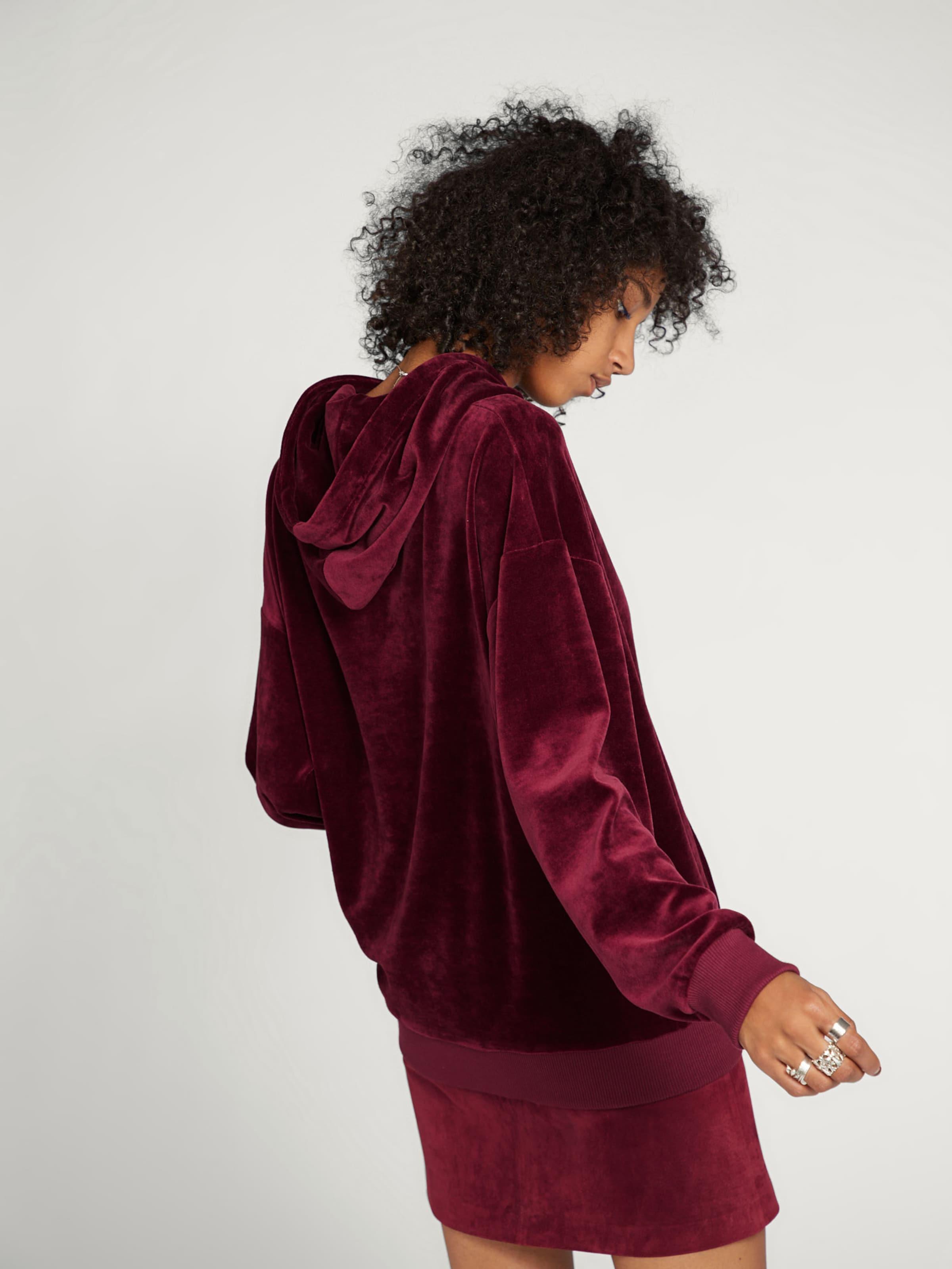 Sweat Edited shirt En 'muna' Bordeaux POiXuTkZ