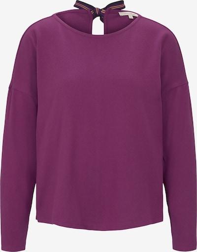 TOM TAILOR DENIM Shirt in lila, Produktansicht