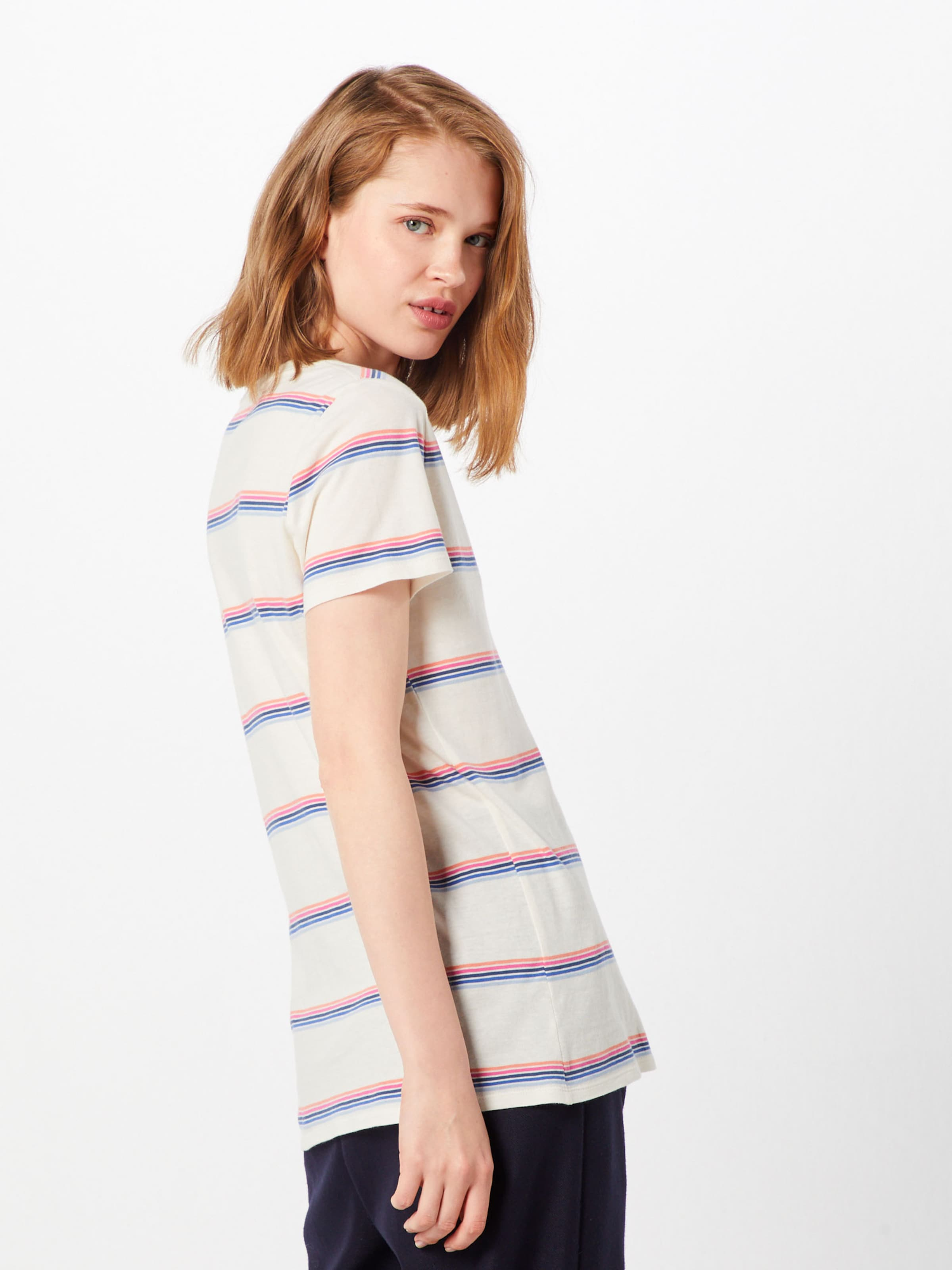 Vint Shirt Gap Vnk Str' Rib Mischfarben 'ss In TlF1cKJ