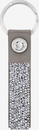 Swarovski Schlüsselanhänger in grau / silber, Produktansicht