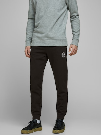JACK & JONES Sweathose 'Gordon ' in schwarz, Modelansicht