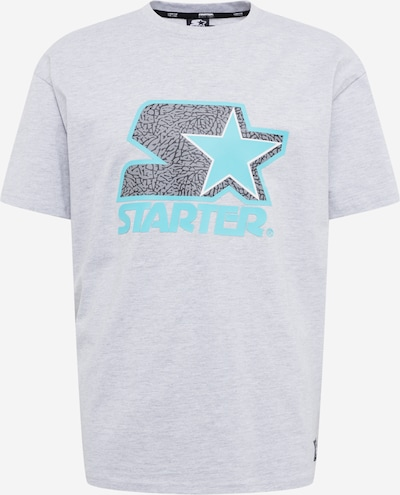 Starter Black Label Shirt 'Starter Multicolored' in türkis / grau, Produktansicht