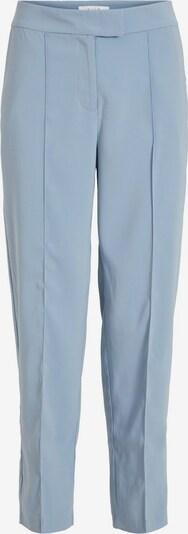VILA Mid Waist Cropped Hose in blau, Produktansicht