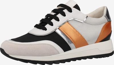 GEOX Sneaker in creme / bronze / offwhite, Produktansicht