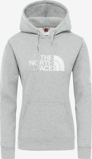 THE NORTH FACE Pullover in graumeliert / weiß, Produktansicht