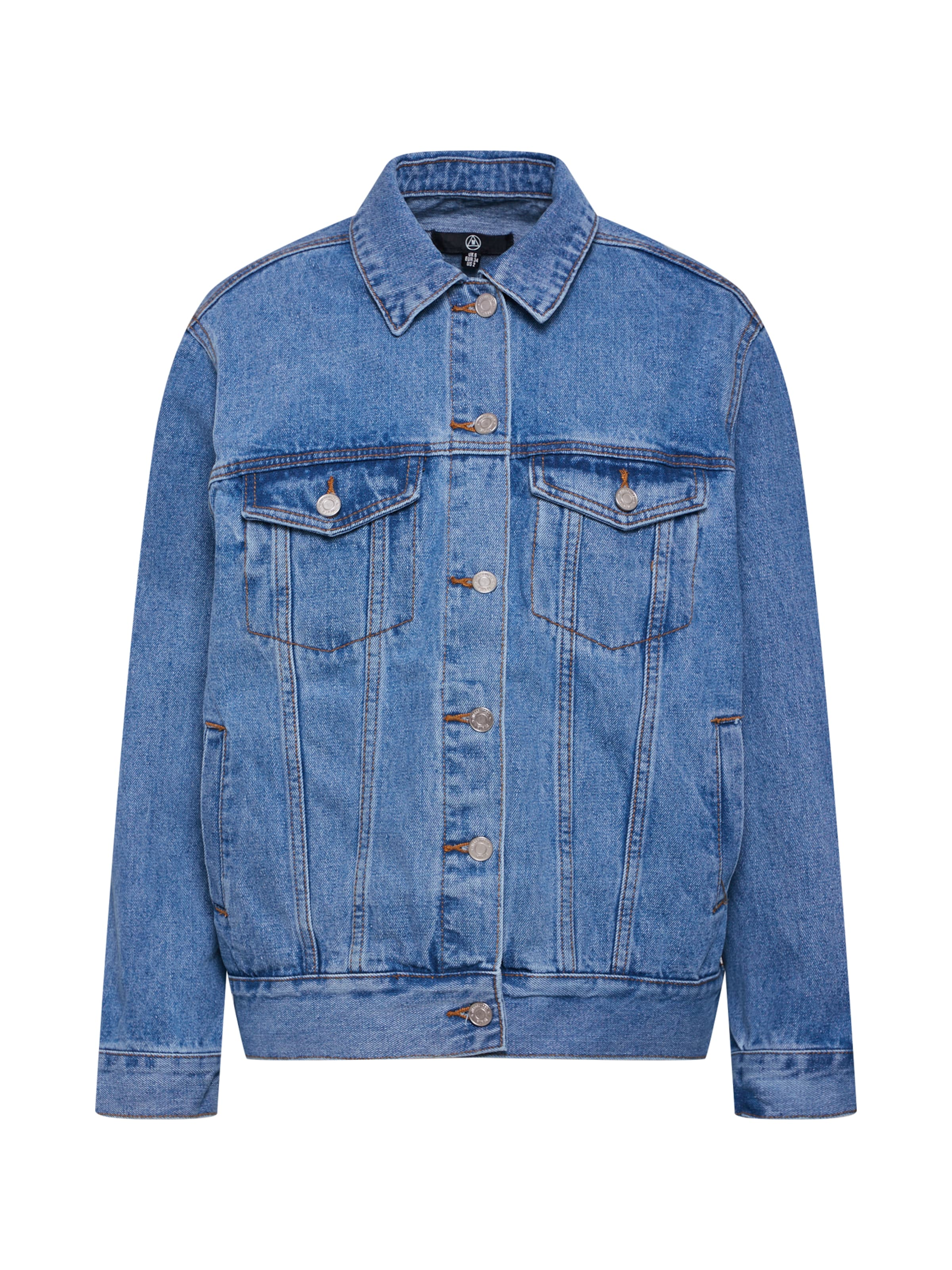 In Blue 'oversized Jacket' Jacke Denim Missguided 5LR4Aj3