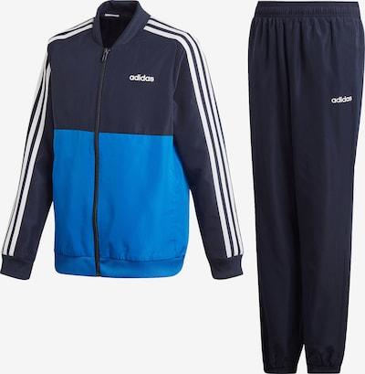 ADIDAS PERFORMANCE Trainingsjacke 'YB TS WOVEN' in blau / dunkelblau / weiß, Produktansicht
