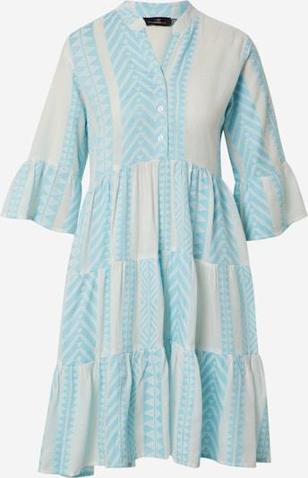 Zwillingsherz Kleid 'Amalia' in türkis / hellblau / weiß, Produktansicht