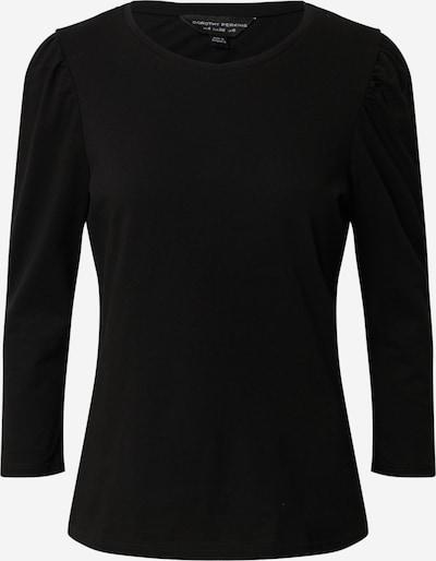 Dorothy Perkins T-shirt 'LONG SLEEVE COTTON TOP' en noir, Vue avec produit