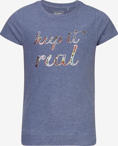 KILLTEC T-Shirt in blau, Produktansicht