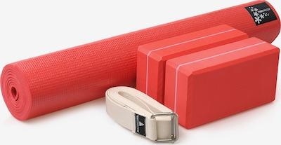 YOGISTAR.COM Yoga-set Kick It - Two in rot / schwarz / weiß, Produktansicht