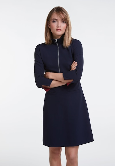OUI Jerseykleid in blau / navy / dunkelblau, Modelansicht