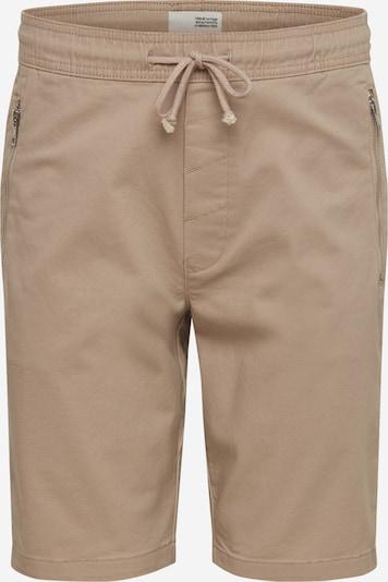 !Solid Hose 'Ron Zip Short' in beige, Produktansicht